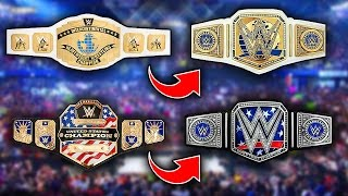 WWE Changing The Intercontinental and United States Championship Design 2017!!