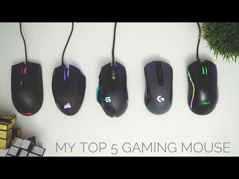 MY TOP 5 GAMING MICE