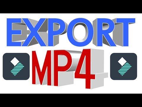 How To Export High Quality 4K Video With Filmora | Filmora Export MP4 Video Formats ETC..