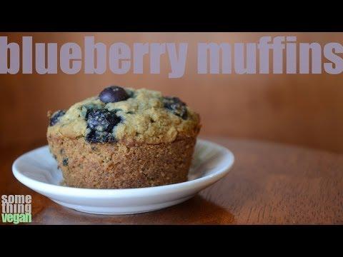 blueberry muffins (vegan and gluten-free) Something Vegan