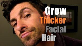 How To Grow Thicker Facial Hair Can You Stimulate Facial Hair Growth