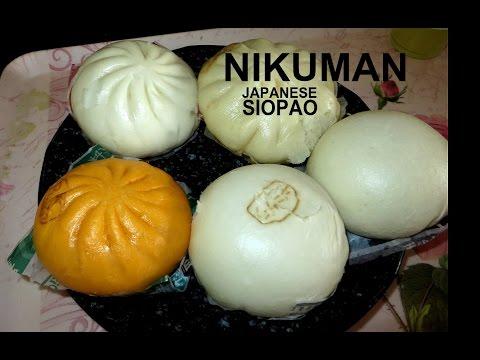 Japanese SIOPAO called Nikuman Tasting