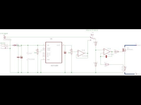Electronic DC Load Design and Testing