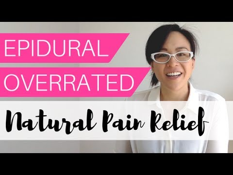 Epidrual or Natural High for Labour Pain Relief? |  HYPNOBIRTH TUTORIAL CLASS#3