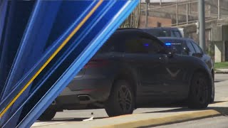 Suspect arrested after shots fired, police chase