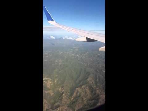 Arriving at Santiago, Dominican Republic