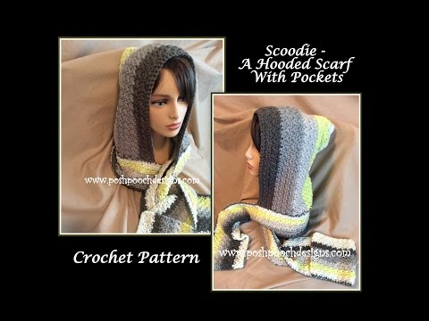 Free Crochet Pattern For Nordic Hooded Scarf Free Nordic Hooded