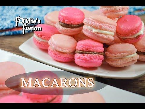 ফ্রেঞ্ মেকারণ  - চুলা ও ওভেনে তৈরি | French Macarons | How to make Macarons | Macarons Recipe Bangla