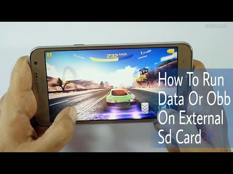 How To Run Obb Data Games From External SD Card On J5 [Any Android] 100% Working!