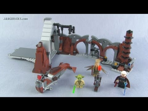 Lego Star Wars Duel on Geonosis 75017 set Review!