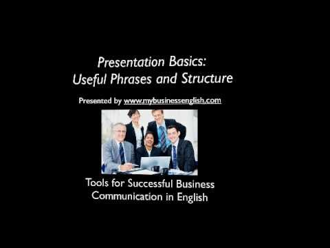 Business English Presentations: Essential Phrases and Structure.mp4