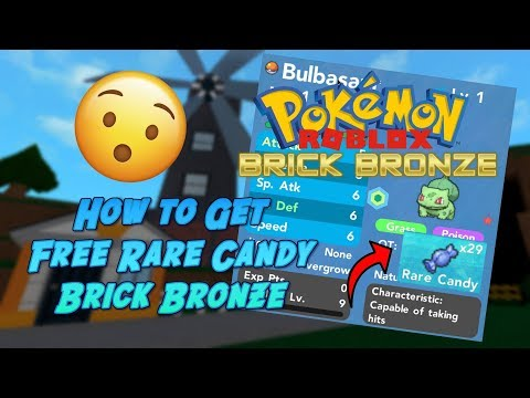 HOW TO GET FREE RARE CANDIES!!! / Pokemon Brick Bronze