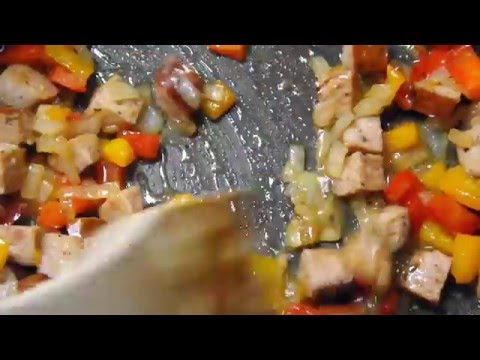 Sausage with Peppers & Potatoes