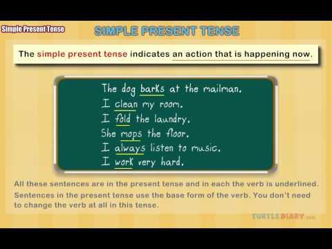 Grammar Video for Kids: Simple Present Tense