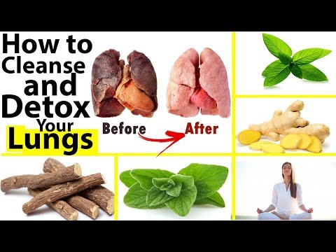 How to Cleanse and Detox Your Lungs / Top 10 Home Remedies For Detox Your Lungs
