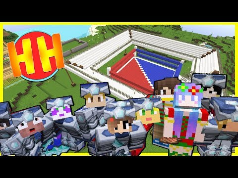 PVP BOXING RING TOURNAMENT!? | Heroes Hangout | #8 | Minecraft Vanilla Lets Play