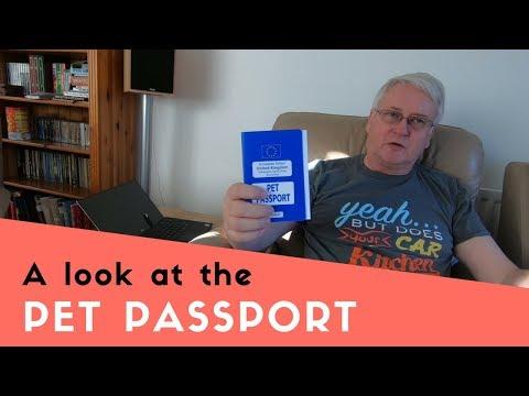 The Pet Passport Scheme