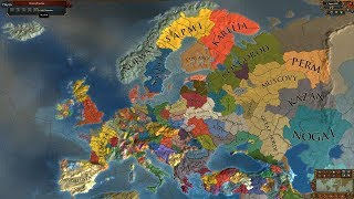 Europa Universalis 4 AI Timelapse The Latest Of The Longest