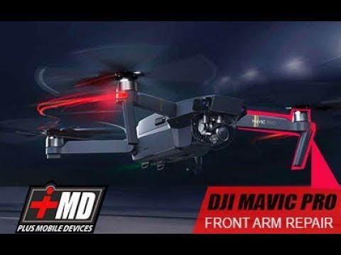 DJI Mavic Pro Front Arm repair