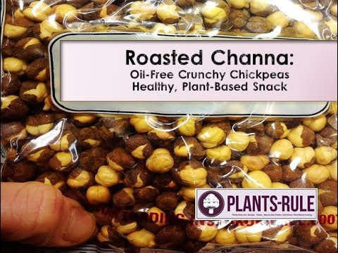 Roasted Channa: Healthy Chickpea Snack