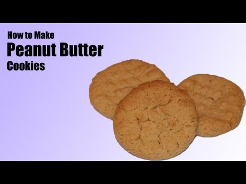 How to Make Peanut Butter Cookies HD