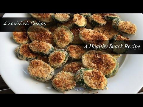 Zucchini Chips - A healthy snack Recipe