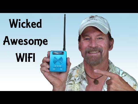 WIFI Access Long Range High Power USB Router Repeater - Pirate Lifestyle TV ™ Quickie 086