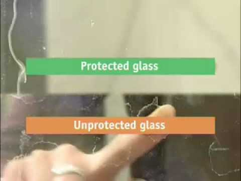 ClearShield on Shower Glass