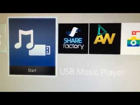 How to listen to music in PS4 using USB!!!