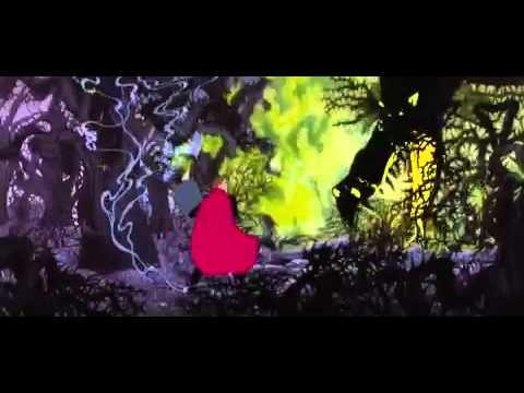 Sleeping Beauty: Philip fights Maleficent