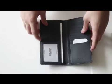 Men's long wallet comparison (Old Orom Systems vs. Picard)
