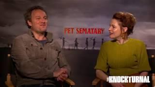 Download Jason Clarke, Amy Seimetz & Directors Talk 'Pet Sematary' Video