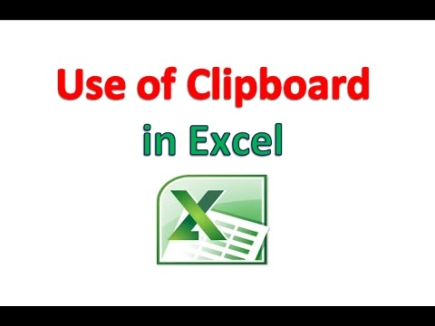 How to Use Clipboard in Excel