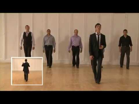 Learn to dance WALTZ - Men's Ballroom steps with Brian Fortuna 2 of 3