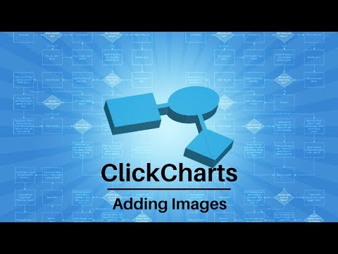 ClickCharts Software Tutorial | Adding Images to Charts and Diagrams