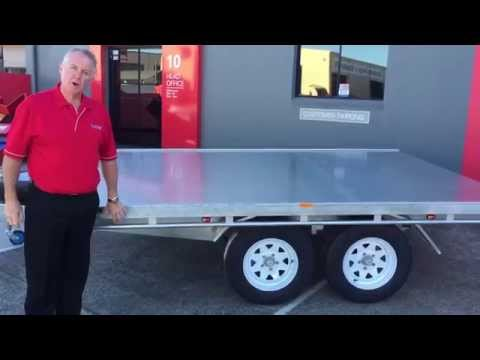 Flat Deck Trailers by Trailers 2000