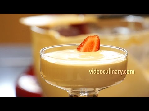 Mousse Recipe - White Chocolate & Caramel  by VideoCulinary