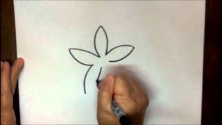 How To Draw A Starfish Step By Step Cartoon Tutorial