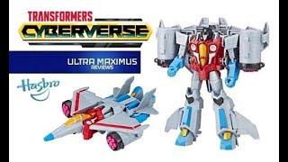 Starscream Transformers Cyberverse Ultra Class
