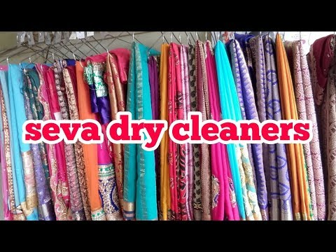 silk  saree dryclean at machine  very easy. .    how do drycleners dry clean silk saree .