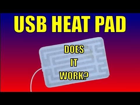 A USB Heat Pad