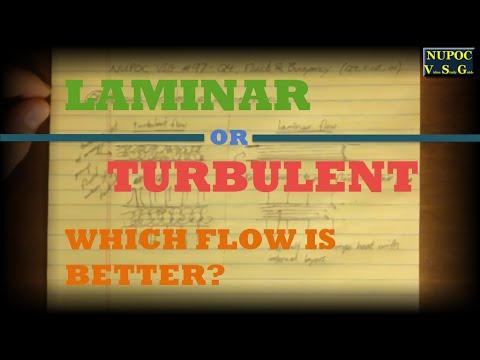 NUPOC VSG #97 - Turbulent vs. Laminar Flow