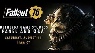 QuakeCon 2018   Fallout 76 and Fan Q&A