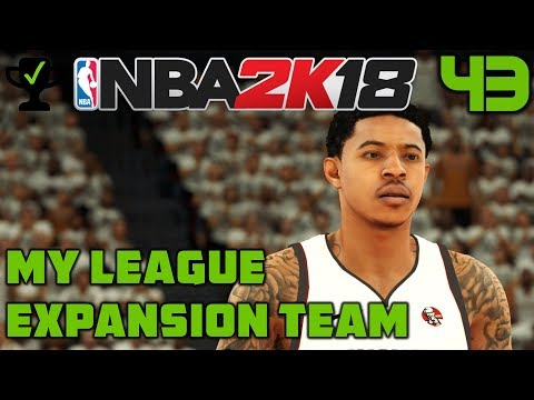 NBA 2K18 My League Ep. 43: The First Playoff Game [Realistic NBA 2K18 My League Expansion]