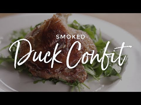 Smoked Duck Confit Recipe on the Yoder Smokers YS640 Pellet Grill