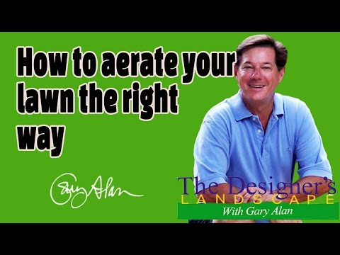 How to Aerate Your Lawn-In the Yard with Gary Alan