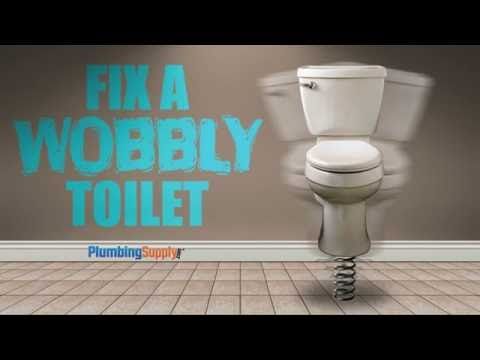 Fixing a Wobbly Toilet