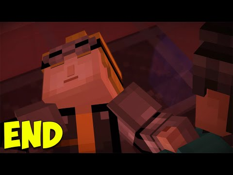 Minecraft Story Mode: Episode 7 | IS LUKAS DEAD?! | The End