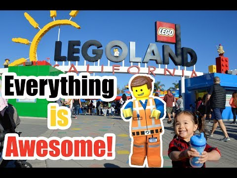 LEGOLAND 2018 - Legoland California Roadtrip - 12/27/17 - 12/28/17 - LivNGwiththeNGs