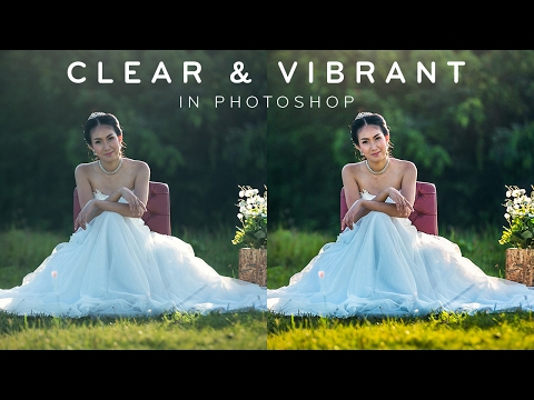 Clear & Vibrant Effect - Photoshop Tutorial [Photoshopdesire.com]